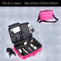 Cosmetic Travel Makeup Organizer Bag - Oveya