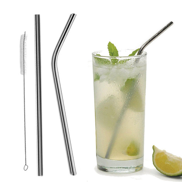 Reusable Stainless Steel Straws - Oveya