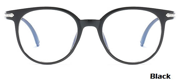 Women or Mens Vintage Round Eyeglass - Oveya