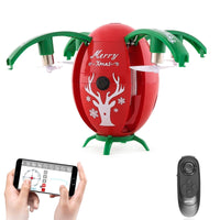 Helicopter Christmas Selfie Drone