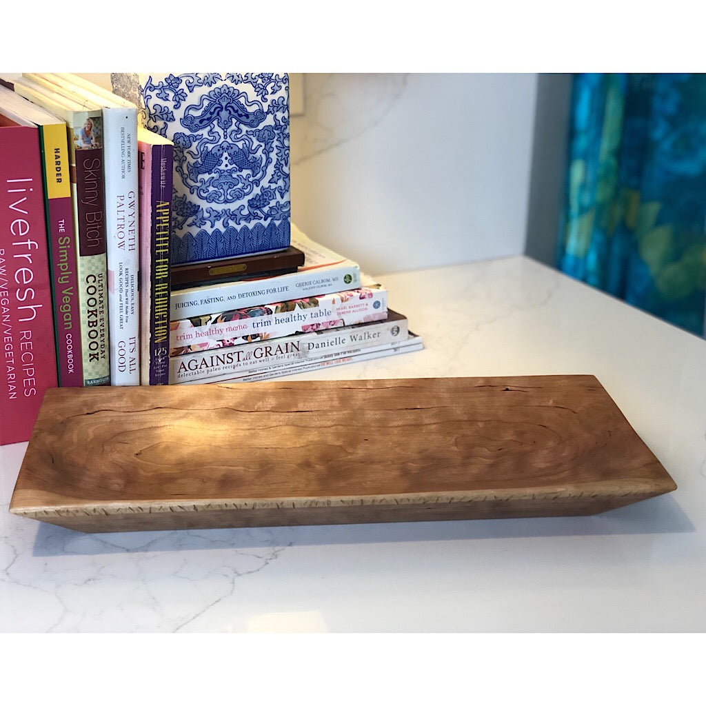 The Wooden Serving Tray