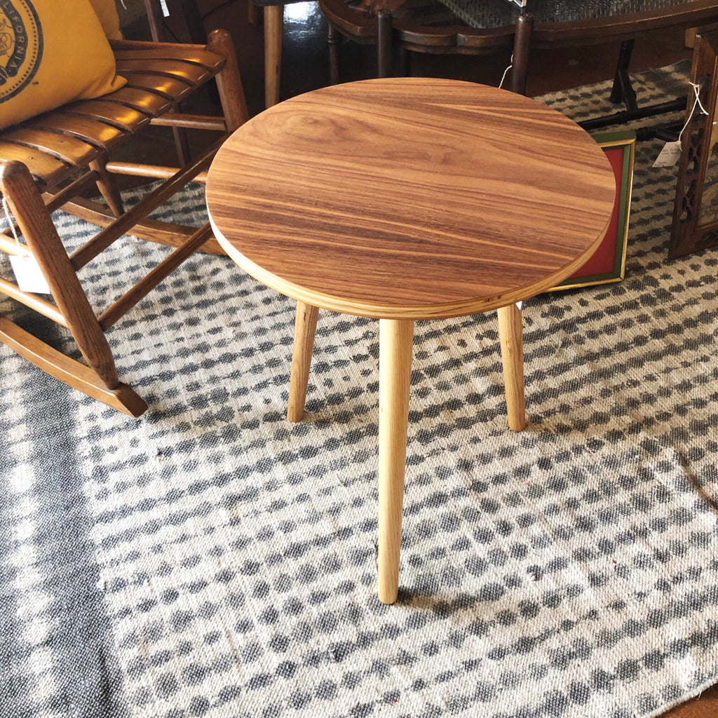 Walnut Plywood Accent Table