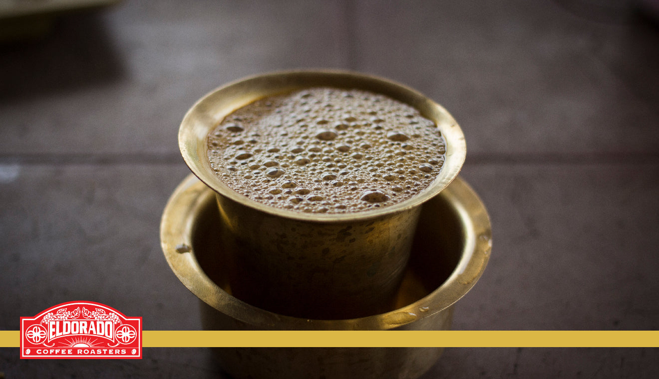 How to Make Filter Coffee South Indian Style