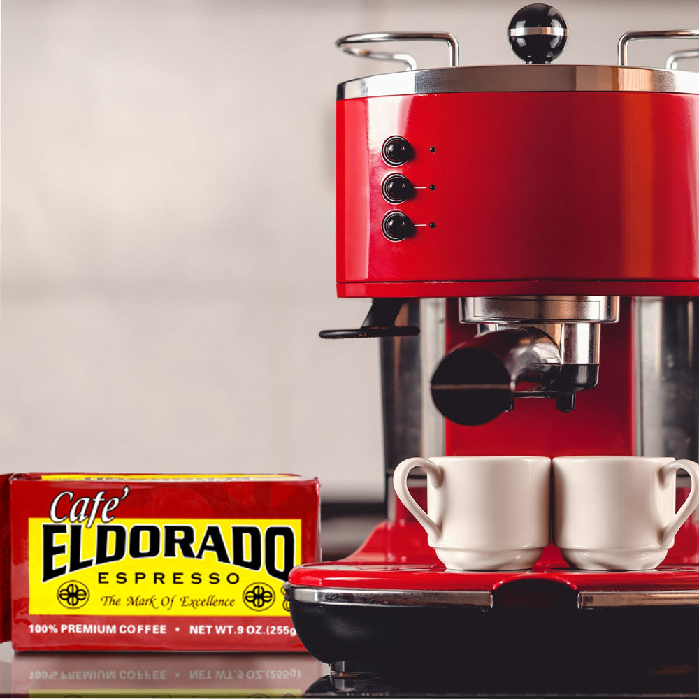 Cafe Eldorado Espresso - 9oz Brick 12-Pack - Eldorado Coffee Roasters