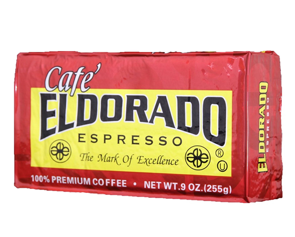 Café Eldorado Espresso – Ground, 9 oz Brick - eldorado-coffee-roasters