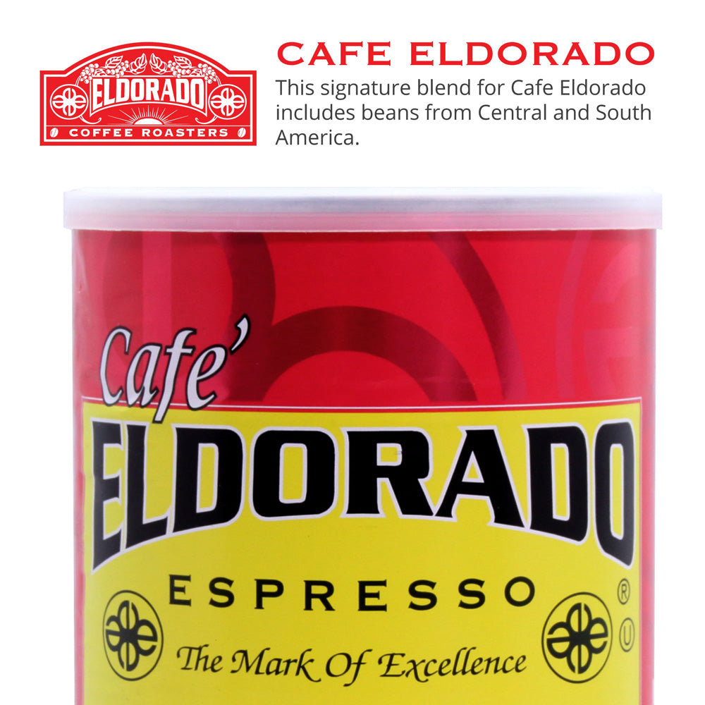 Café Eldorado Espresso – Ground, 9 oz Brick - Eldorado Coffee Roasters