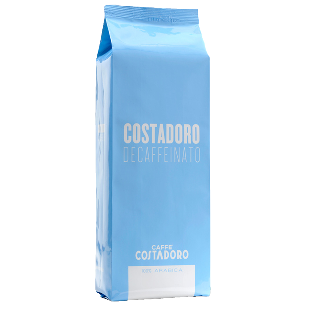 Costadoro Decaf Espresso - Whole Bean, 2.2 lb Bag / 1 Case - Eldorado Coffee Roasters