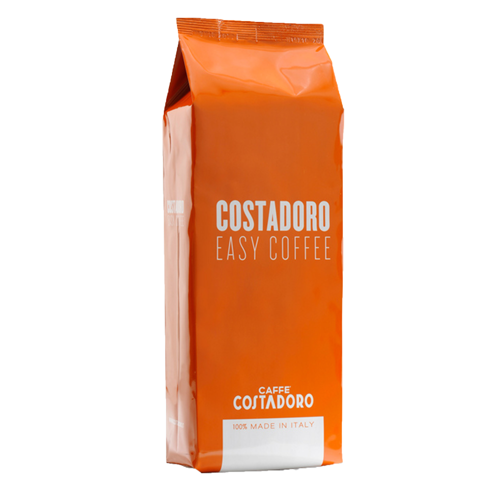 "Costadoro Espresso ""Easy Coffee"" - Whole Bean, 2.2 lb Bag / 1 Case - Eldorado Coffee Roasters"