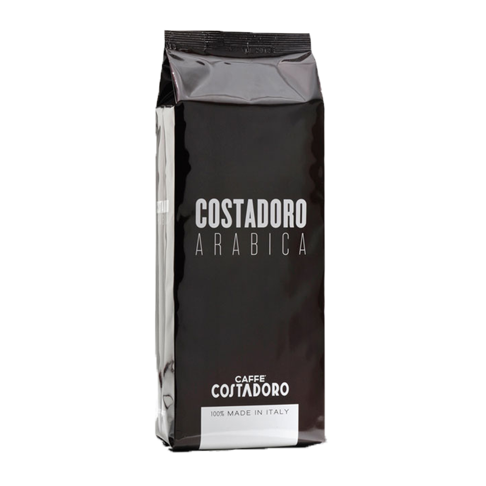 Costadoro Arabica Espresso - Whole Bean, 2.2 lb Bag / 1 Case - Eldorado Coffee Roasters