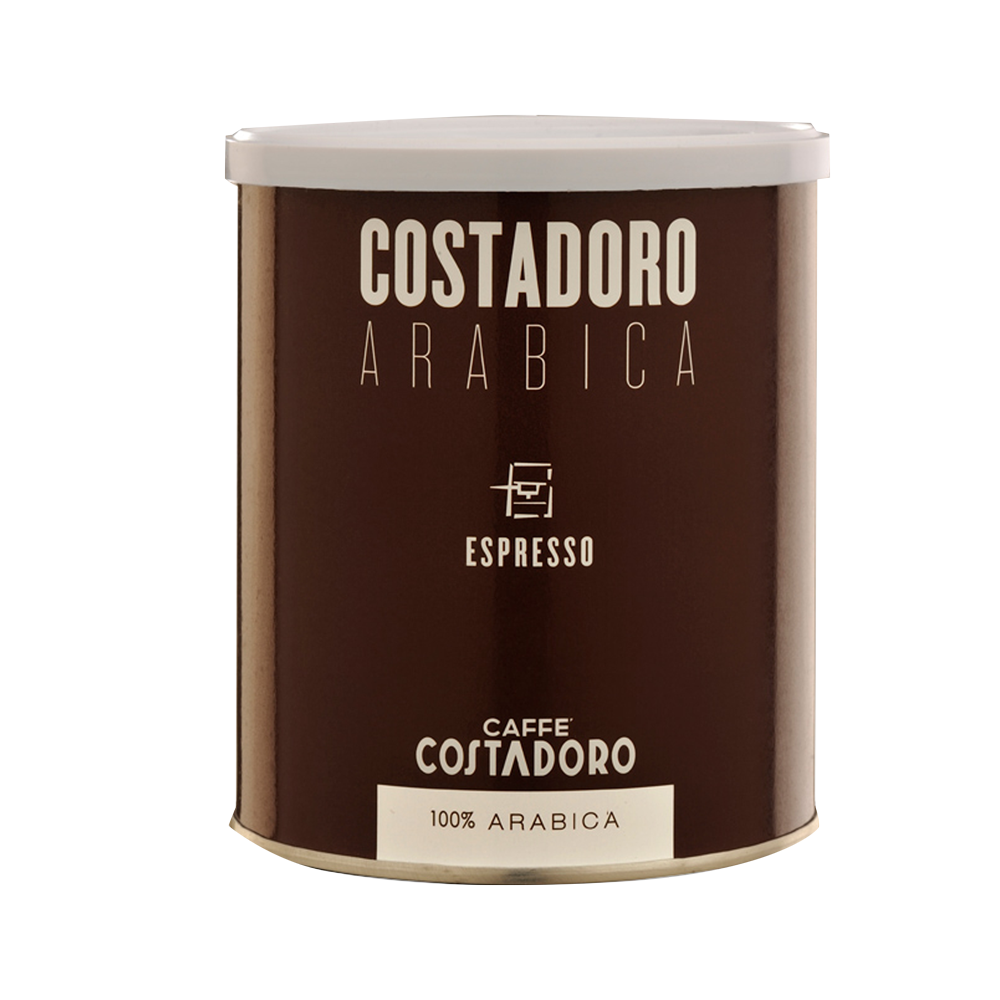 Costadoro Espresso - Ground, 8.8 oz Can / 1 Case - eldorado-coffee-roasters