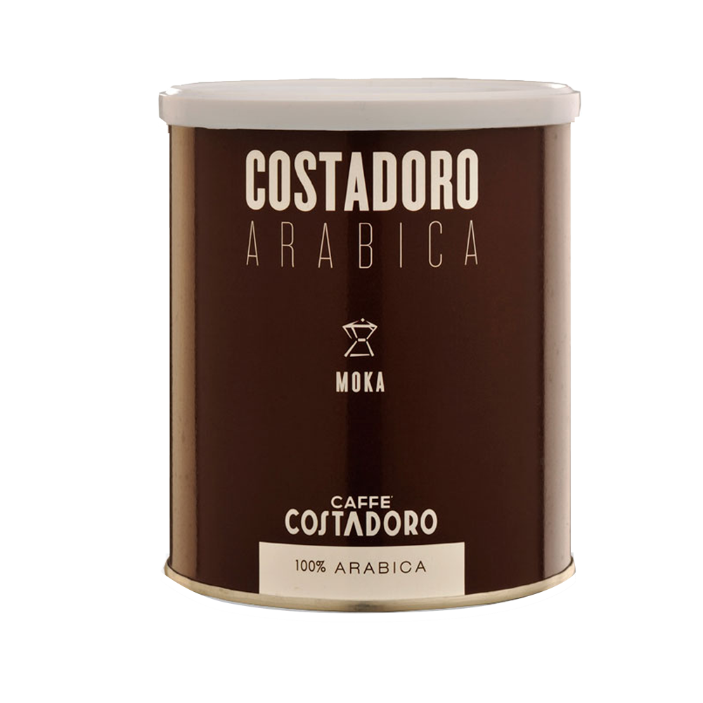 Costadoro Moka - Ground, 8.8 oz Can / 1 Case - eldorado-coffee-roasters