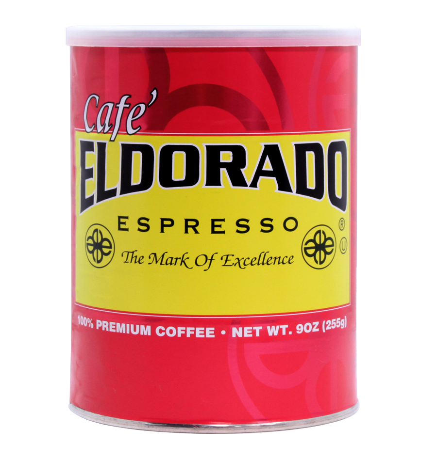 Café Eldorado Espresso – Ground, 9 oz Can - eldorado-coffee-roasters