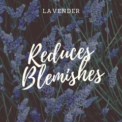 Botanicals Beauty lavender infused oil reduce blemishes
