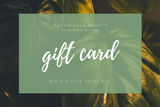 Botanicals Beauty Gift Card
