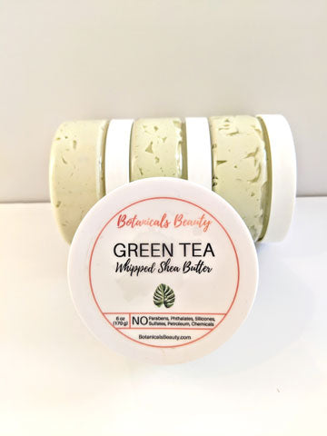 Green Tea (Unisex) Whipped Shea Butter