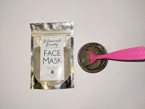 "Apricot & Honey ""Exfoliating"" Green Clay Face Mask"