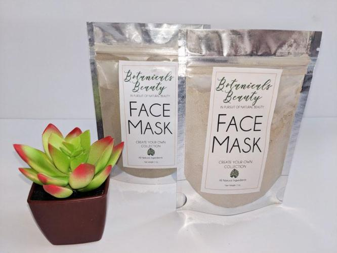 "Carrot & Ginger ""Glow"" Green Clay Face Mask"