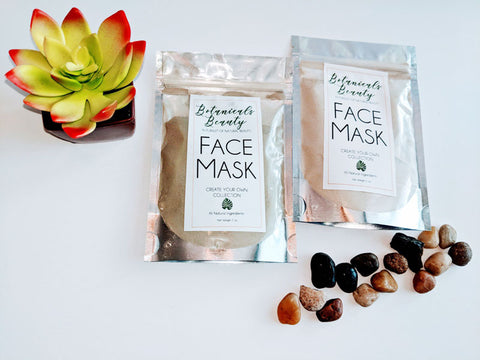 "Charcoal & Hibiscus ""Firm"" Clay Face Mask"