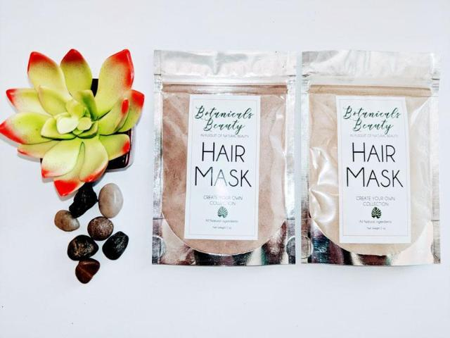 "Botanicals Beauty Amla & Noni ""Regenerate"" Rhassoul Clay Hair Mask"