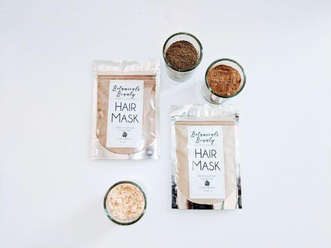 Custom Herbal Conditioning Clay Hair Mask
