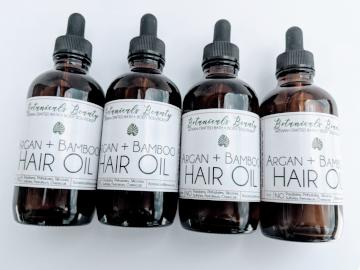 Botanicals Beauty Argan + Bamboo Hair Growth Oil