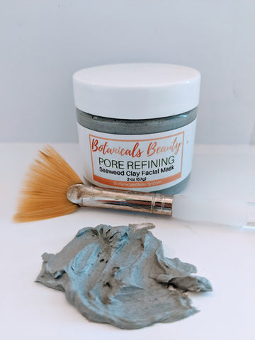 Botanicals Beauty Pore Refining Seaweed Clay Facial Mask