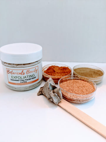 Botanicals Beauty Exfoliating Seaweed Facial Mask