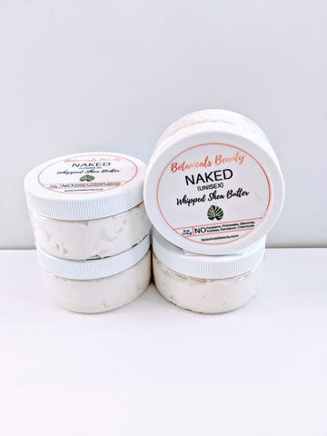 Naked (Unisex) Whipped Shea Butter