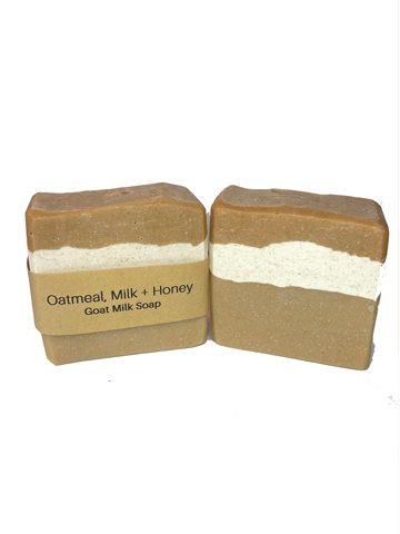 Goat Milk Soap - Oatmeal, Milk, & Honey