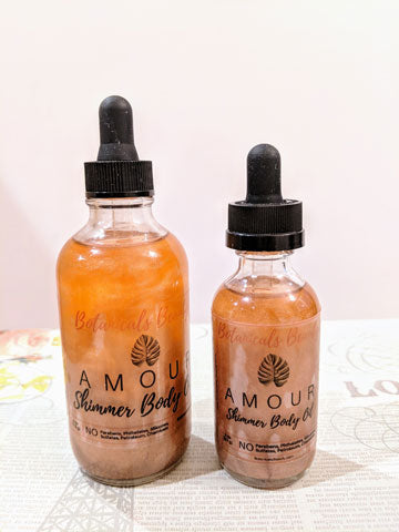 Botanical Beauty Amour Shimmer Body Oil