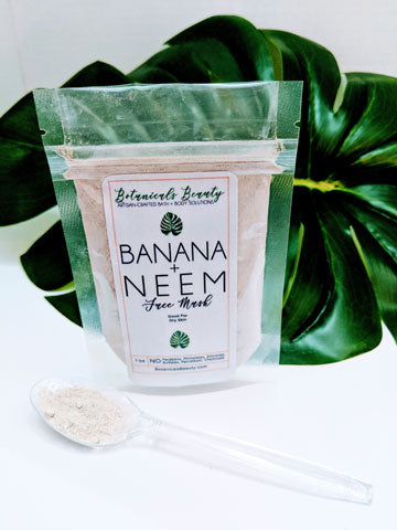 Botanicals Beauty Banana Neem Kaolin Clay Face Mask
