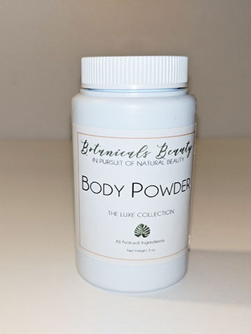Botanical Beauty talc-free dusting body powder heavenly shimmer