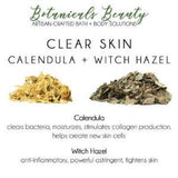 Custom Herbal Bentonite Clay Face Mask calendula witch hazel