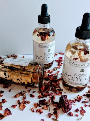 Ecstasy Floral Body Oil Botanicals Beauty