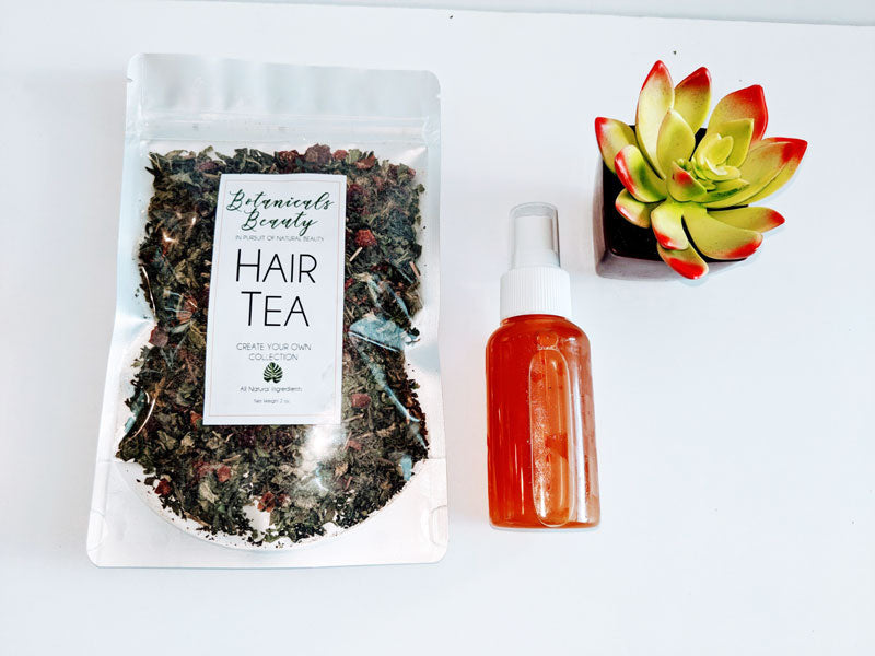 "Rosehips & Nettle ""Stimulate"" Hair Tea Conditioner"