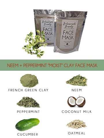 "Botanicals Beauty Pore Minimizer - Face Mask Trio ""Moist"""