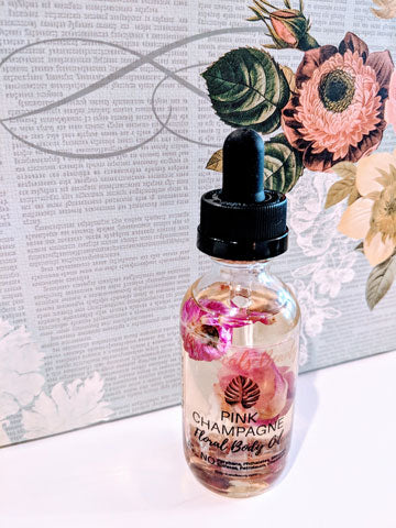 Pink Champagne Floral Body Oil