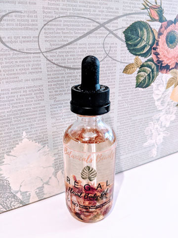 Regal Floral Body Oil Botanicals Beauty