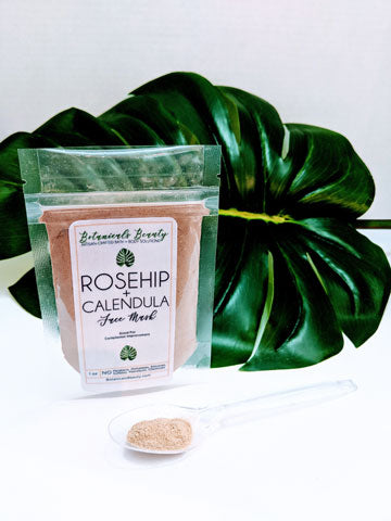 Botanicals Beauty Rosehip Calendula Bentonite Clay Face Mask