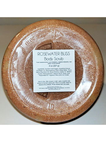 Botanicals Beauty Body Scrub Rosewater Bliss Shimmer