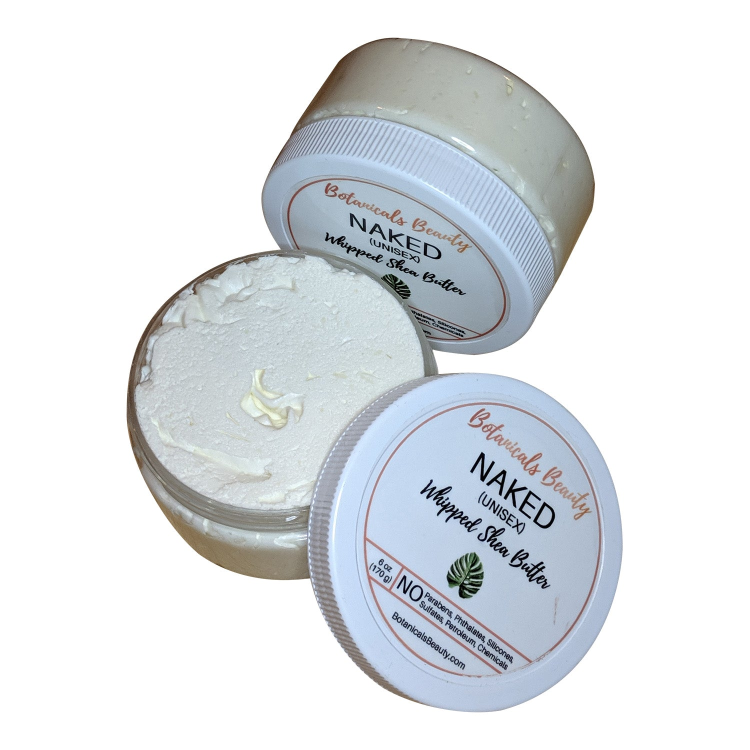 Botanicals Beauty Naked (Unisex)  Whipped Shea Butter