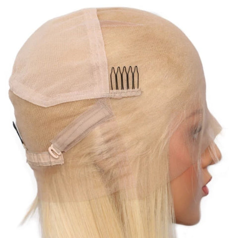 Blonde Silky and Straight Brazilian Hair Wig