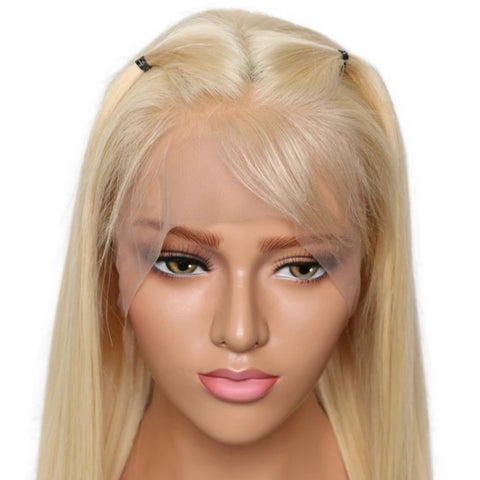 Blonde Silky and Straight Brazilian Hair Wig-Hair Schmair