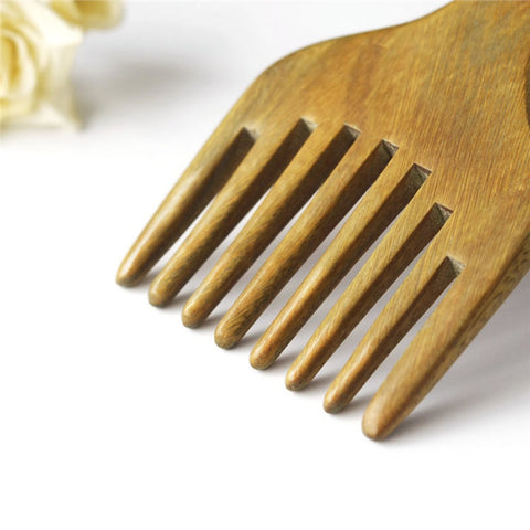 Wide Tooth Sandalwood Comb