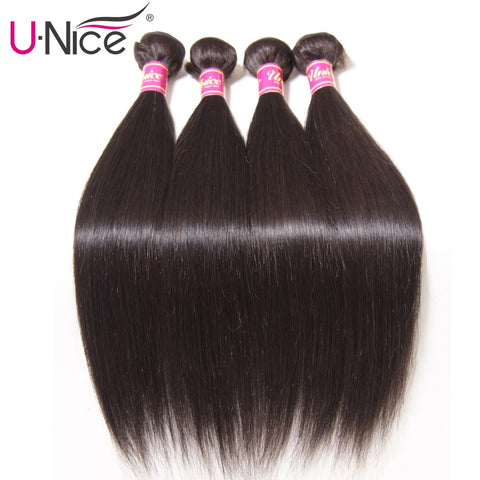 Straight Natural Color Brazilian Hair Bundle