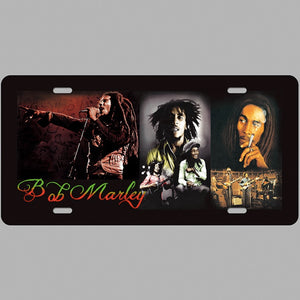 Bob Marley Marijuana Tin Plate Sign