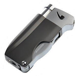 Multifunction Pipe Lighter with Three Different Pipe Tools