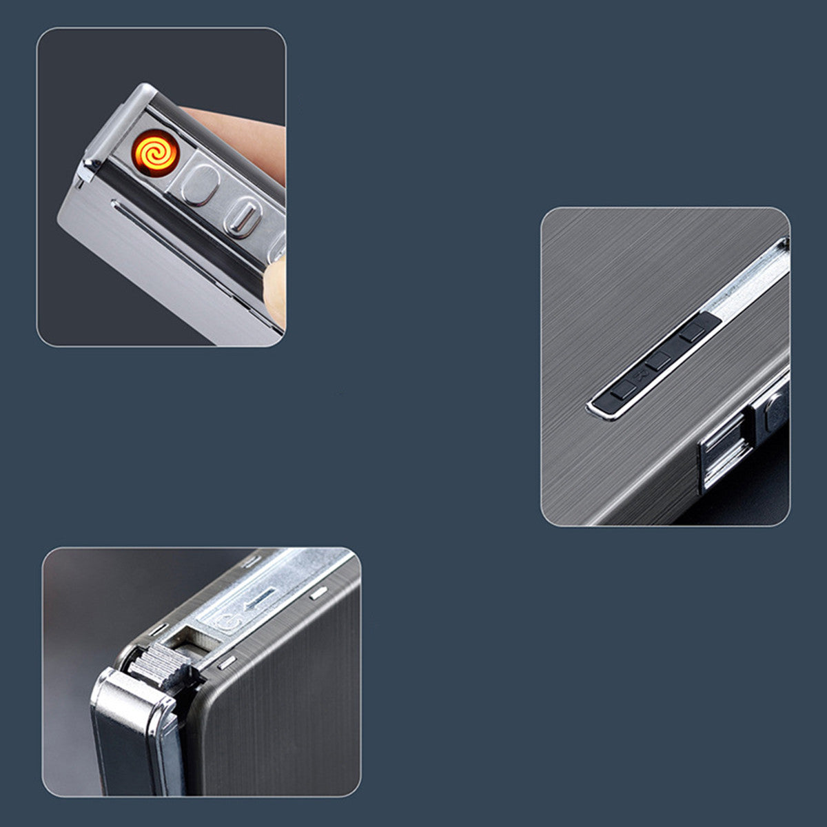 Electric USB Rechargeable Lighter