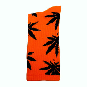 1 Pair Comfy Cotton Marijuana Socks