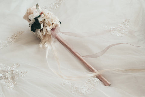 Traditional Flower Girl Design - Wand